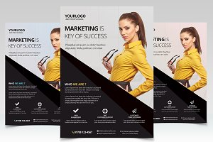 Marketing Business - PSD Flyer