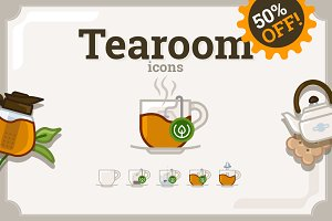 Tea Time icons (42 + 41)