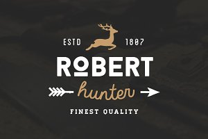 20 Vintage Logos & Badges Vol 01