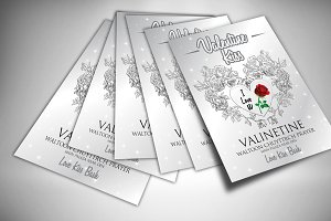3 Flyer & Invites Mock Ups