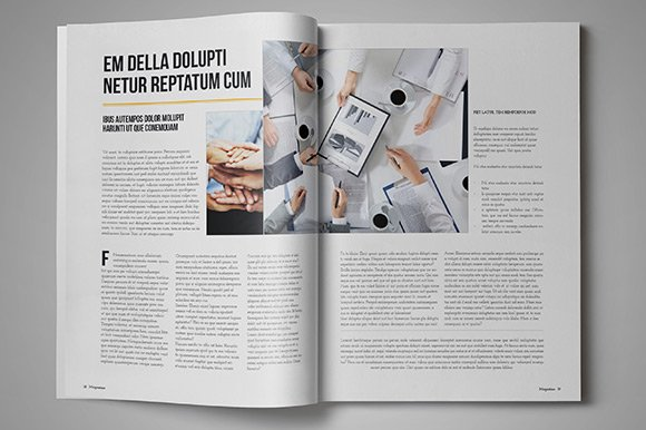 Business magazine template magazine templates creative market cheaphphosting Gallery