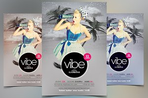 Vibe - PSD Flyer Template