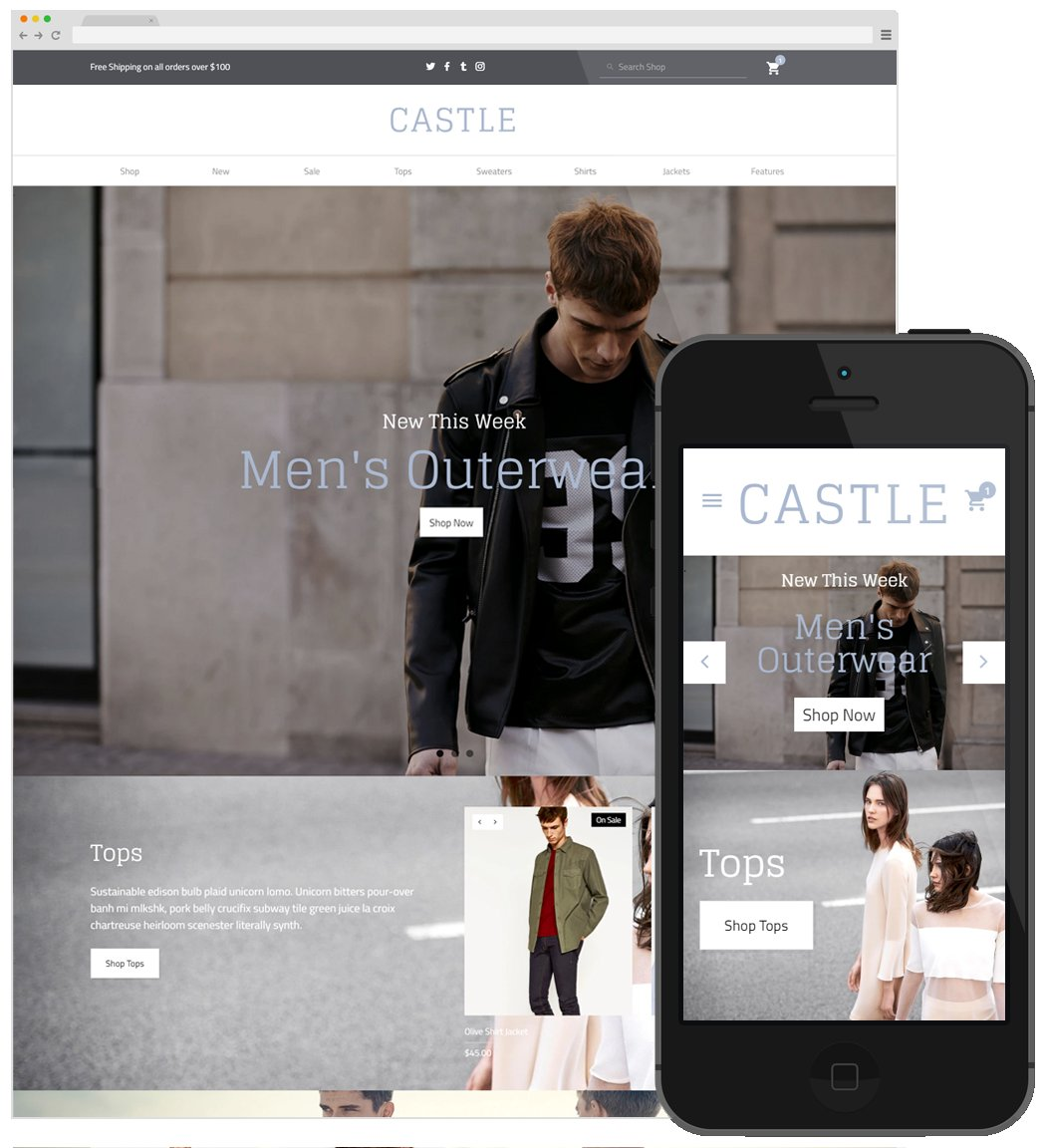 big cartel themes templates free - castle big cartel theme themes creative market