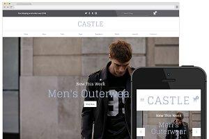 Castle - Big Cartel Theme