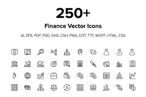 250+ Finance Icons