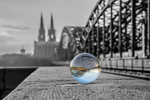 Cologne cathedral color key