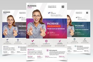 Marketing Agency - PSD Flyer