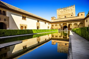 Court of the Myrtles, Alhambra.