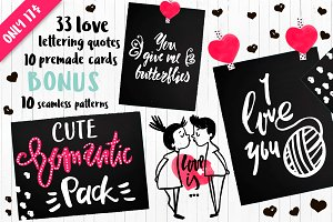 EXPRESSIVE LOVE LETTERING PACK