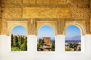 The Alhambra from the Windows.