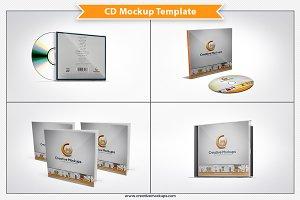 CD Mockup Template