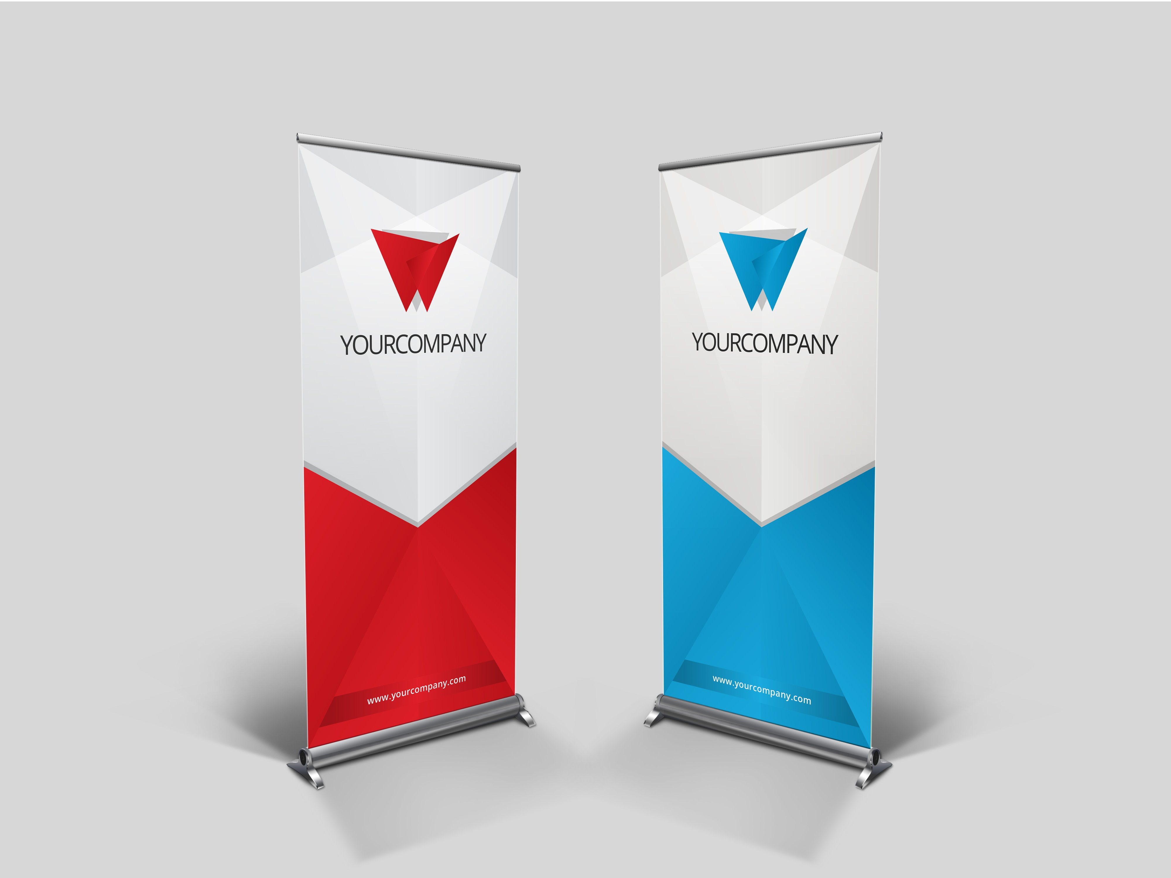 business rollup banner nex 003 presentation templates creative market