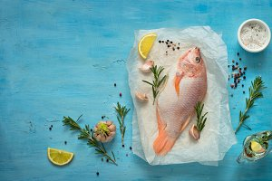 Tilapia fresh fish