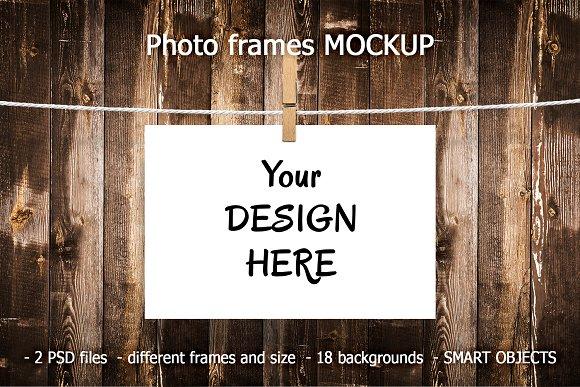 Photo Frames MOCKUPS