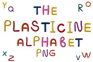 plasticine ABC. Aphlabet & Numbers