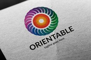 Orientable (O Letter) Logo