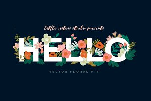 Hello Floral kit