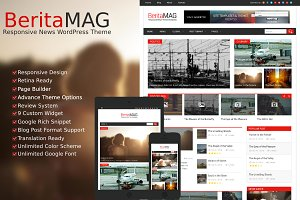 BeritaMag - News WordPress Theme