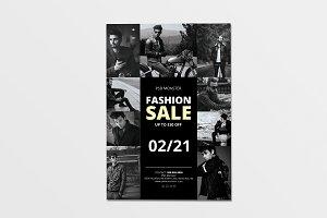 Black & White Fashion Sale Flyer 1