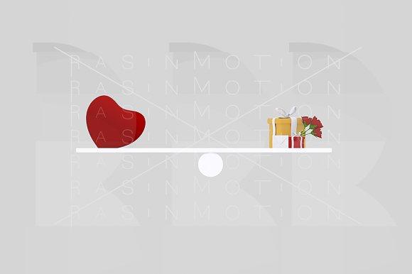 Saint valentine balance