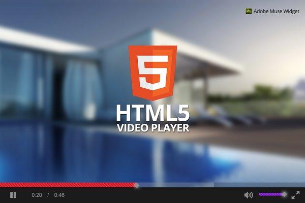 HTML5 Video Player - Adobe Muse