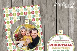 Christmas Card Template for Millers