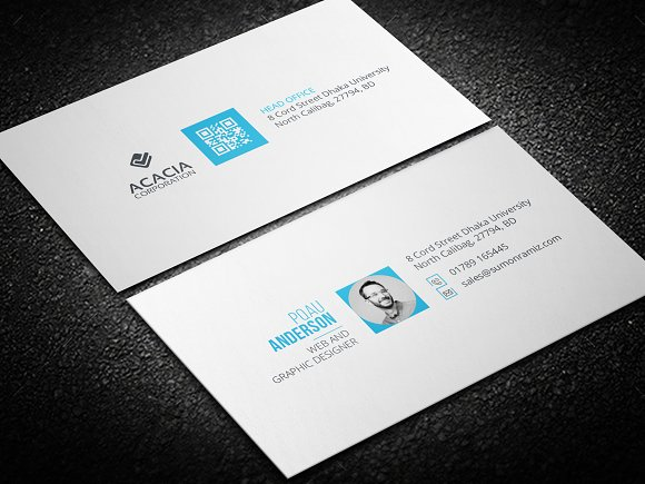 Personal Business Card Business Card Templates Creative Market - Personal business cards template