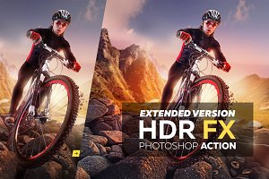 HDR FX Extended - Photoshop Action
