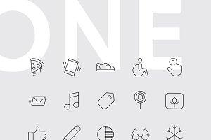 ONE - 600+ Premium Icons