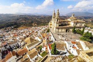 Olvera, Cadiz, Spain.