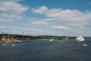 Waterview of Djurgården, Stockholm