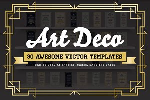 Awesome Art Deco Invites & Cards