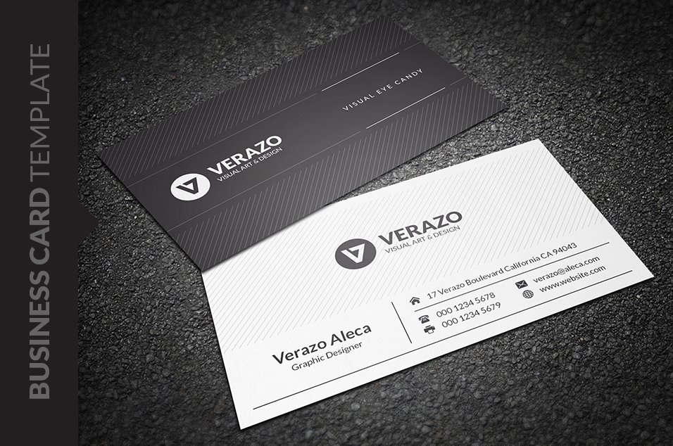 Creative Amp Modern Business Card Business Card Templates