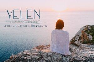 YELEN - Handwritten Font