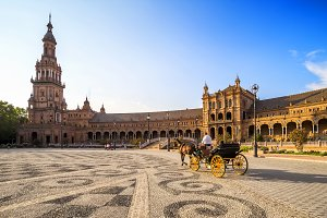 Spanish Square, Seville