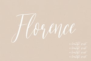 Florence | A Beautiful Script
