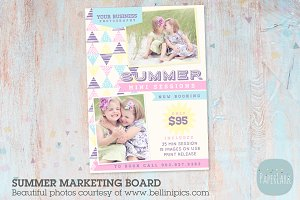 IH008 Summer Marketing Board