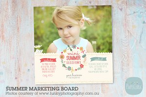 IH003 Summer Marketing Board