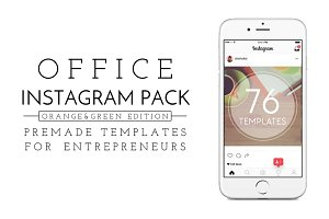 Office Insta Pack [orange & green]