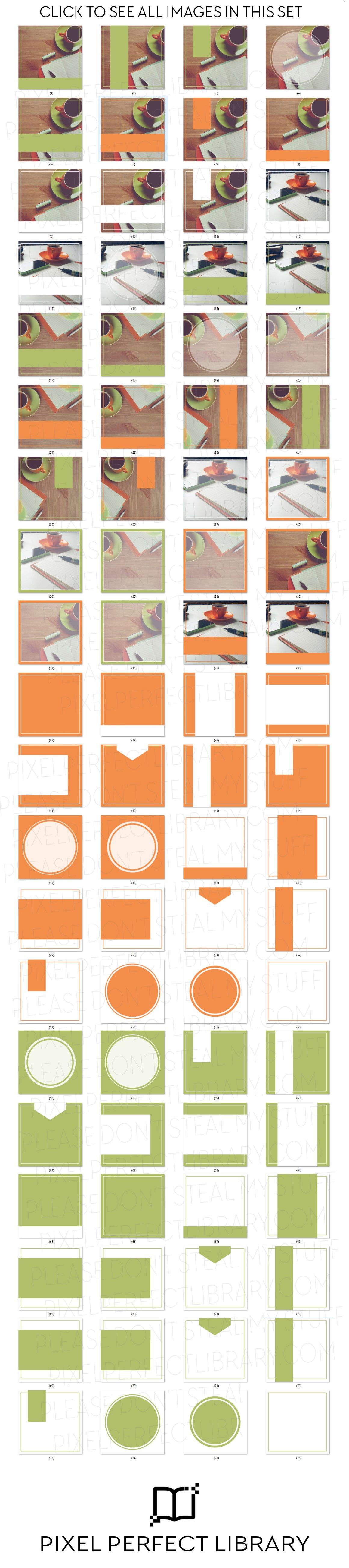 Office Insta Pack [orange & green]