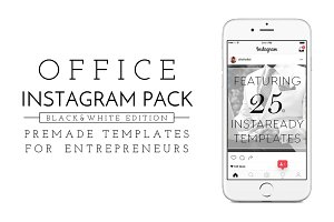 Office Insta Pack [black & white]
