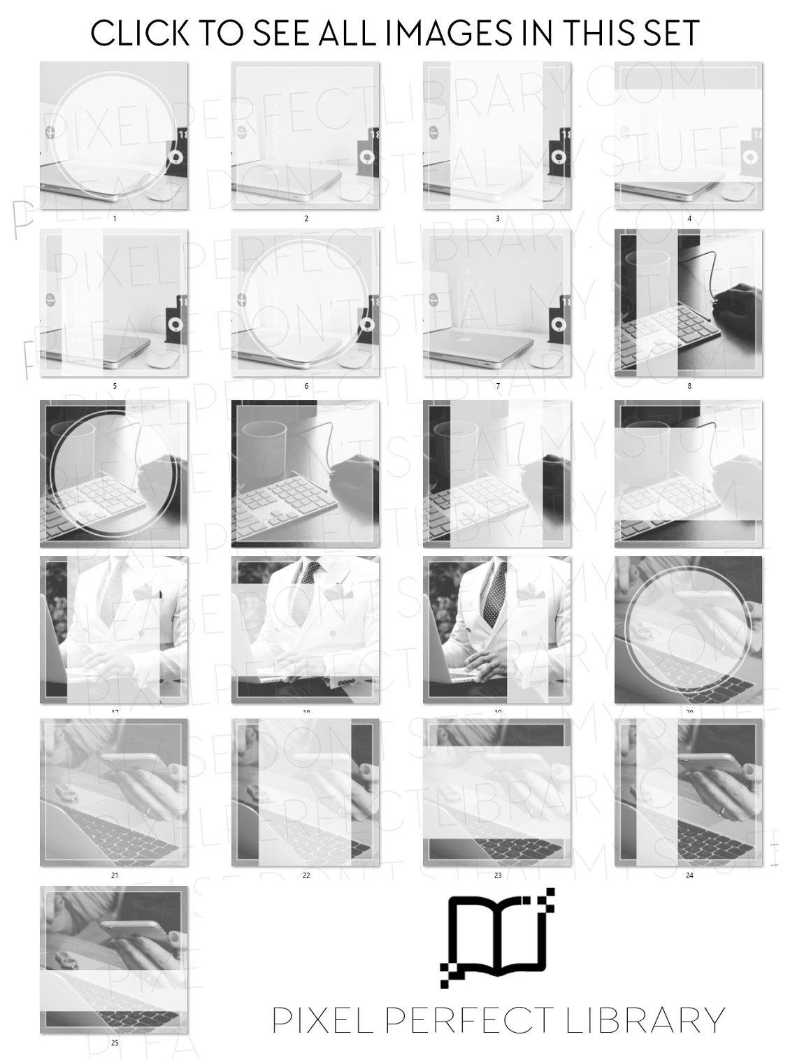 Office Insta Pack [black & white]
