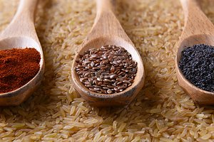 Flax Seed and Spices