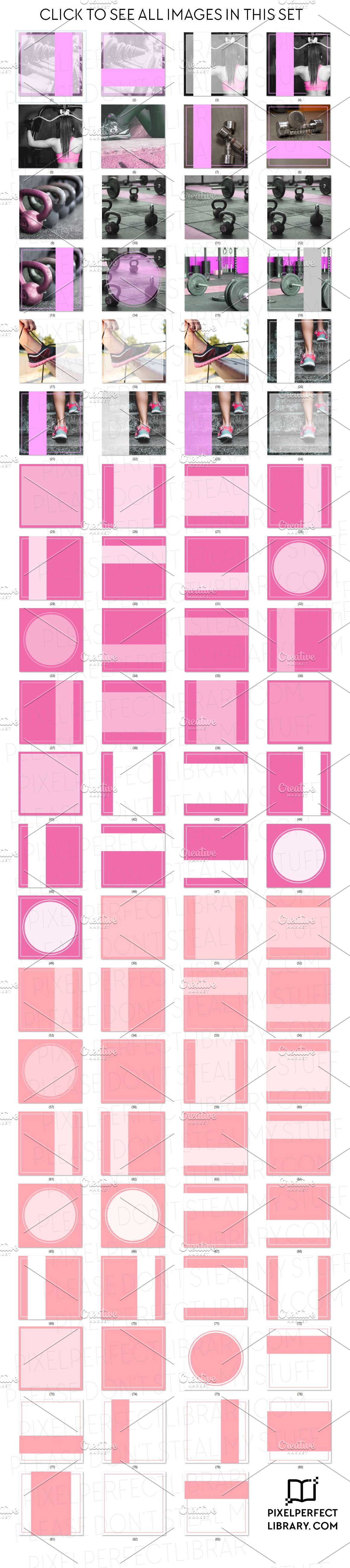 Fitness Insta Pack [Pink Edition]