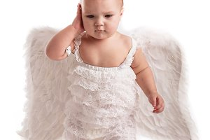 Baby angel talk phone