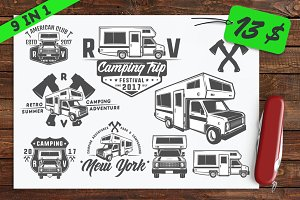 9 in 1 Set of RV car and Home Truck