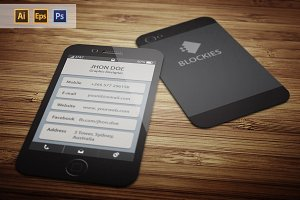 Iphone 6 (25% Off) Business Card