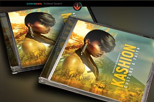 Tropical CD Artwork Template