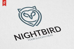 Night Bird Logo