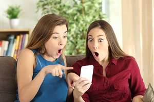 roommates watching offers on line